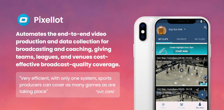 Pixellot-Mobile-App-Development